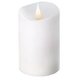 カメヤマ エンキンドルラスティクピラー 3×5 PE7000010W ホワイト│照明器具 卓上照明