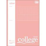 日本ノート カレッジ(College) プラスメモリ A罫 B5 CLP3AP ピンク│ノート・メモ 大学ノート・綴じノート