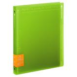 キョクトウ パペルールブリューム A4 30穴 ワイドタイプ LN224G グリーン