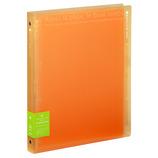 キョクトウ パペルールブリューム A4 30穴 ワイドタイプ LN224OR オレンジ