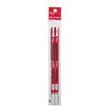 クツワ 赤鉛筆 PM105 2本入