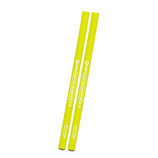クツワ 鉛筆の蛍光マーカー 2本セット PA005YE イエロー