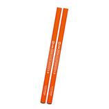 クツワ 鉛筆の蛍光マーカー 2本セット PA005OR オレンジ