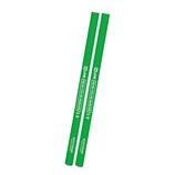 クツワ 鉛筆の蛍光マーカー 2本セット PA005GR グリーン