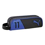 クツワ ダブルカラーペンケース PM183BL ブラック/ブルー