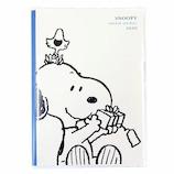 【2019年12月始まり】 クツワ スヌーピー家族手帳 B6 薄型 605SQA シンプル/ホワイト 日曜始まり
