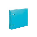 コクヨ CD/DVDファイル 22枚収容 ケース付 EDF−CF221LB ライトブルー│ファイル クリアファイル