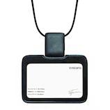 コクヨ IDカードホルダー トライストラムス ストラップ 横 THF-MG01D ブラック│名札・カードホルダー 名札ケース・IDカードケース