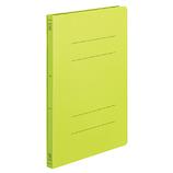 コクヨ フラットファイル PP 樹脂製とじ具 _A4縦 フ−H10YG 15mm 黄緑│ファイル フラットファイル
