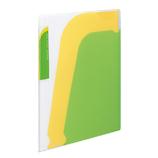 コクヨ ノビータ ポケットブック A4S ラ−N210LG 透明黄緑