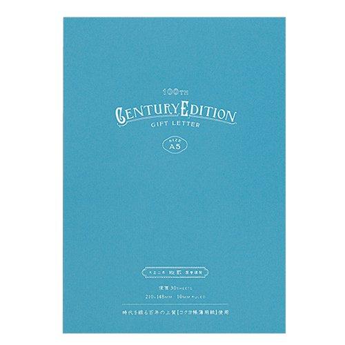 コクヨ 便箋[ギフトレター]縦罫 HG−L100T−B ブルー