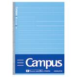 コクヨ(KOKUYO) 学習罫キャンパスノート[文章罫] 30枚 セミB5 ノ−F3AMN−B 青7.7mm│ノート・メモ 学習帳