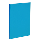 コクヨ ノビータα ポケットファイルα A4 ラ−NF24LB 24ポケット 水色│ファイル クリアファイル