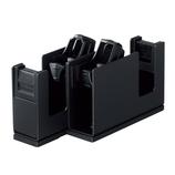 コクヨ テープカッタカルカット2連 T−SM110D ブラック