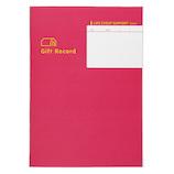 コクヨ 贈答記録をまとめるノート LES−R103│手帳・日記帳 日記帳