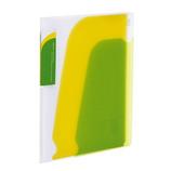 コクヨ(KOKUYO) ポケットブック ノビータA5 縦チャックポケット付 ラ−N202LG 透明黄緑│ファイル レール式・挟み込みファイル