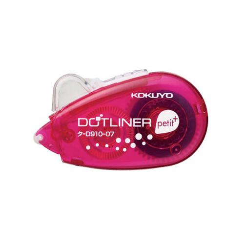 コクヨ テープのり ドットライナープチプラス タ−D910−07P ピンク