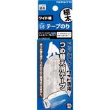 コクヨ(KOKUYO) テープのり ドットライナーワイド専用 つめ替え用テープ 強粘着 タ−D400−20