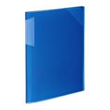 コクヨ(KOKUYO) クリヤーホルダーブック ノビータ固定式 A4 12ページ フ−N5710B−12 青
