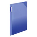 コクヨ モッテ クリヤーホルダーブック 固定式 A4縦 フ−LM5710B−4 4P 青