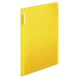 コクヨ モッテ クリヤーホルダーブック 固定式 A4縦 フ−LM5710Y−4 4P 黄