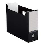 コクヨ NEOS ファイルボックス A4−NELF−D ブラック│ファイル ボックスファイル