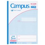 コクヨ(KOKUYO) キャンパスノート スマートキャンパス セミB5 ノ−GS30S10−5LB│ノート・メモ 大学ノート・綴じノート