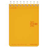 コクヨ ソフトリング ドット B罫 A7 メ−SV378BT−YR 80枚 橙