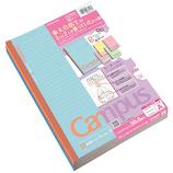 コクヨ(KOKUYO) 限定色キャンパスノート マシュマロカラー ノ-3CATN-L21X5 A罫 5色パック