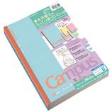 コクヨ(KOKUYO) 限定色キャンパスノート マシュマロカラー ノ-3CBTN-L21X5 B罫 5色パック