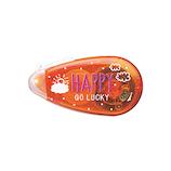 コクヨ(KOKUYO) テープのり ドットライナープチプラス タ-D910-07NL6 限定柄 HAPPY