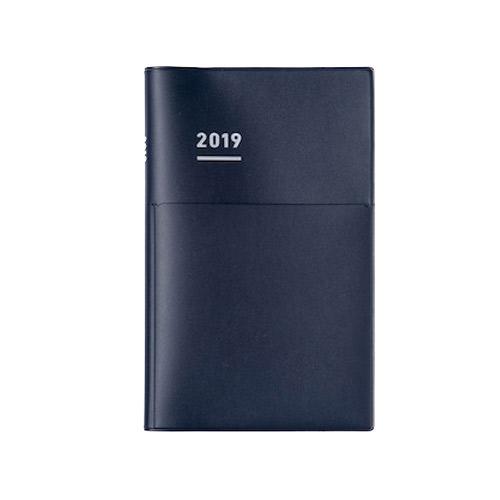【2019年3月始まり】 コクヨ(KOKUYO) ジブン手帳Biz mini2019 Spring B6スリム ウィークリー ニ-JBM1DB-194 マット ネイビー  月曜始まり