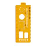 コクヨ(KOKUYO) ジブン手帳 テンプレ プランVer. ニ−JG7−2 オレンジ│定規・コンパス