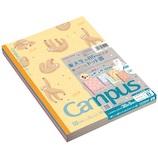 コクヨ(KOKUYO) キャンパスノート 限定 ノ−3CBTN−L26X5 ドット罫 B罫 6号(セミB5) ふわふわアニマル 5冊セット