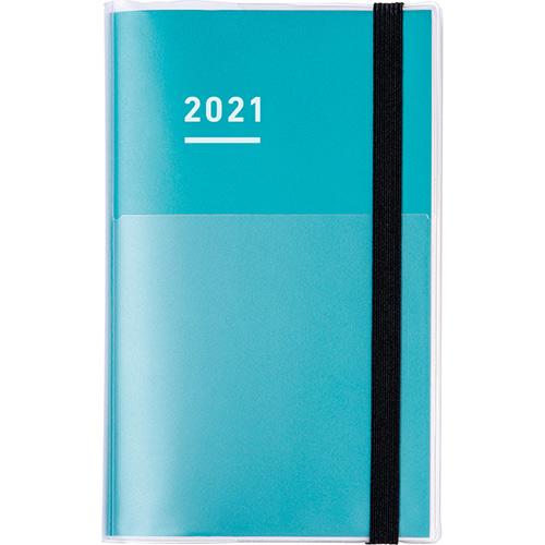 【2020年11月始まり】 コクヨ(KOKUYO) ジブン手帳mini ファーストキット  B6スリム ウィークリー ニ-JFM1G-21 グリーン 月曜始まり