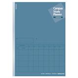 コクヨ キャンパス スタディプランナー ルーズ 2ウィークス罫 B5 ノ-Y80LT-DB ネイビー│ノート・メモ 大学ノート・綴じノート