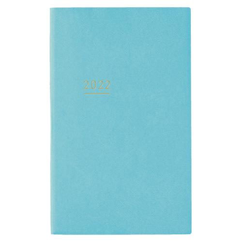 【2021年12月始まり】 コクヨ(KOKUYO) ジブン手帳 Lite mini B6スリム ウィークリー 二-JLM1LB-22 ブルー 月曜始まり│手帳・日記帳 ビジネス手帳