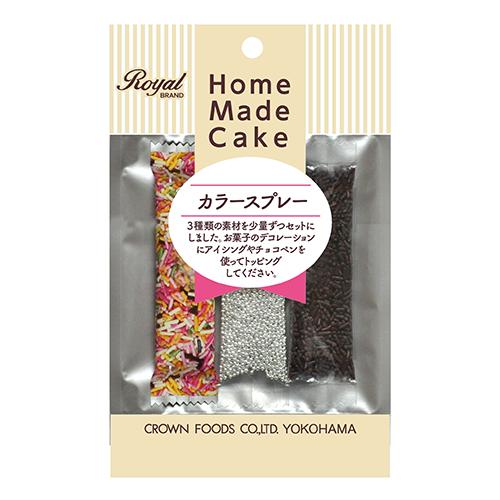 クラウンフーヅ カラースプレー│製菓材料 チョコレート