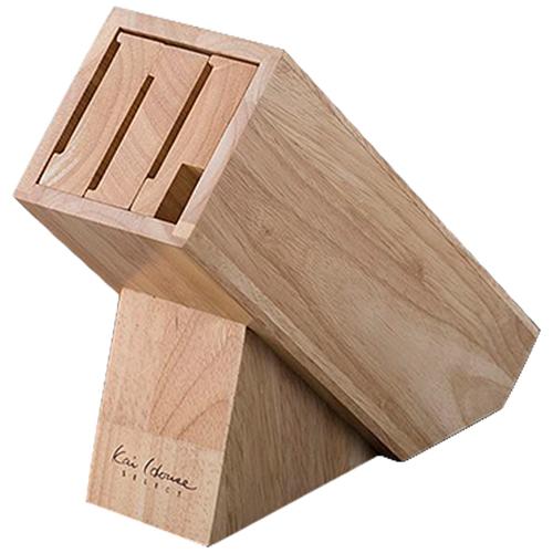 KAI 木製ナイフブロック AP5321