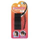 KAI Hair Goods(ヘアグッツ) 強力アレンジピンS 黒 10本入り HA0306
