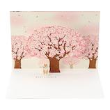 サンリオ 満開の桜と柴犬 183075