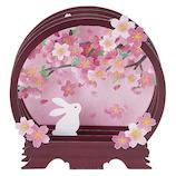 サンリオ 丸棚桜とうさぎ 203262