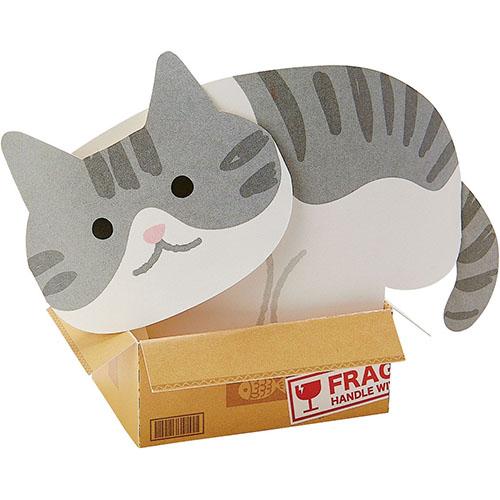 サンリオ 箱に入ったネコ 247031│カード・ポストカード メッセージカード