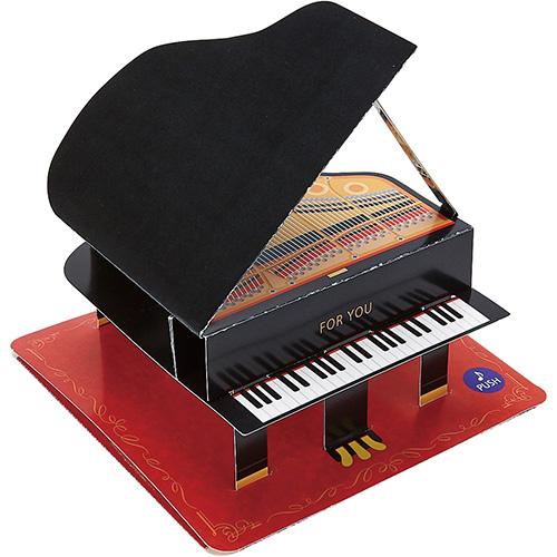 サンリオ ピアノ 774952│カード・ポストカード メッセージカード