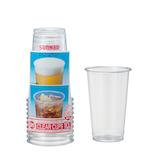 サンナップ クリアーカップ 420mL 10個入│使い捨て容器・食器 使い捨て食器