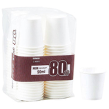 サンナップ 商い用 ミニカップ 90ml 80個入│使い捨て容器・食器 使い捨て容器