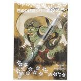 セーラー 浮世絵ボールペン&ポストカードセット 風神雷神図屏風 風神│ボールペン 油性ボールペン