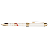 セーラー万年筆 優美蒔絵複合金魚 160353210 ホワイト