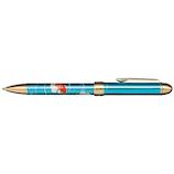 セーラー万年筆 優美蒔絵複合金魚 160353244 メタルブルー