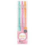 ゼブラ サラサクリップ 0.5mm JJ15 ミルク3色│ボールペン 水性ボールペン